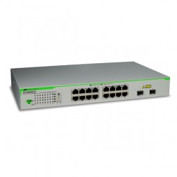 Switch 16 Port Allied Telesis AT-GS950/16 mit 2 SFP combo ports