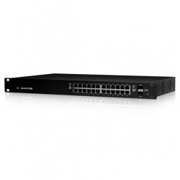 24 Port PoE Switch Ubiquiti EdgeSwitch Managed ES-24-250W